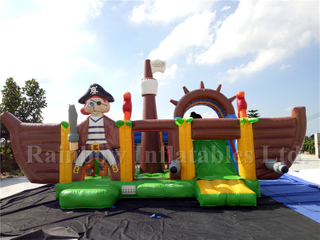 RB11018 Inflatabe Pirate Ship/Pirate Ship Bounce House