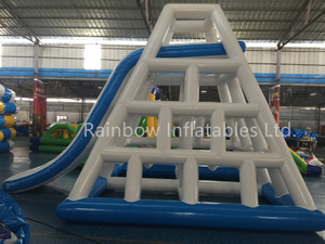 Hot Sale Commercial Inflatable Floating Water Climbing Ladder Water Slide for Adults