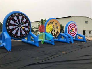 Famous Commercial Inflatable Sports Game Soccer Goal Game for Adults