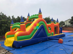 Large Customized Indoor Inflatable Obstacle Course for Kids And Adults