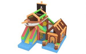 Undersea Pirate Ship Inflatable for Indoor And Outdoor
