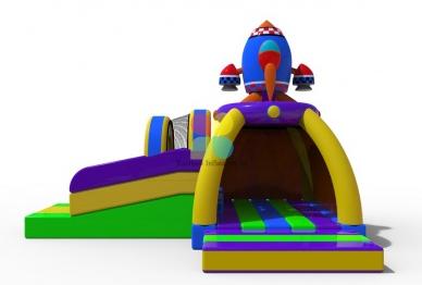 Rocket Bouncer with Slide