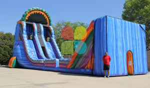 Inflatable Zip Line Sports Game
