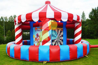 High School Carnival Interactive Inflatable Game , Corporate Events Team Building Exercises Multi-Functional Inflatables