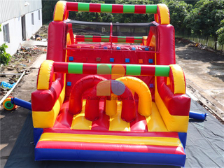 Large Customized Backyard Inflatable Obstacle Course for Kids And Adults
