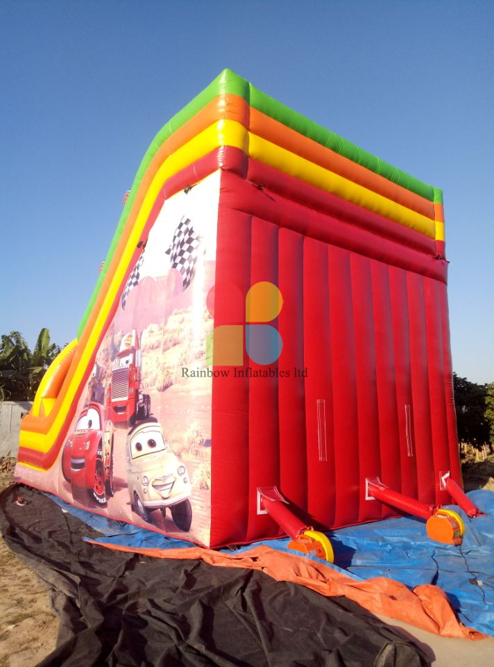 Inflatable Race Car Slide