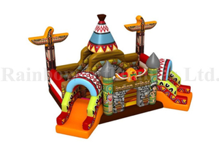 New Desgin Outdoor Inflatable The Indian Theme Funcity Playground
