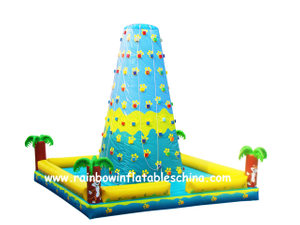 RB13009(7x7x7m) Inflatable children rock climbing wall
