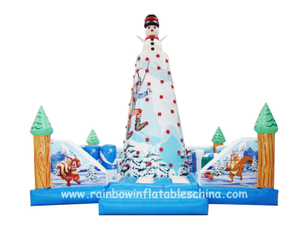 RB13001(6x6m) Inflatables Outdoor Air Rock Mountain Climbing Walls