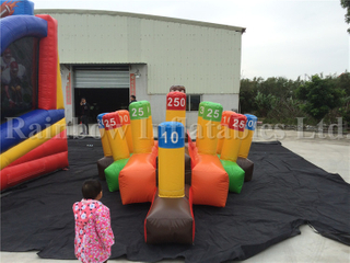 Outdoor Commercial Inflatable Carnival Game Ring Toss Game for Sale