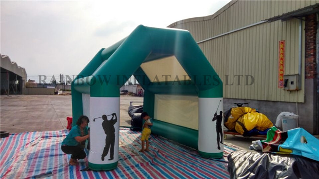 Inflatable golf gates for sale
