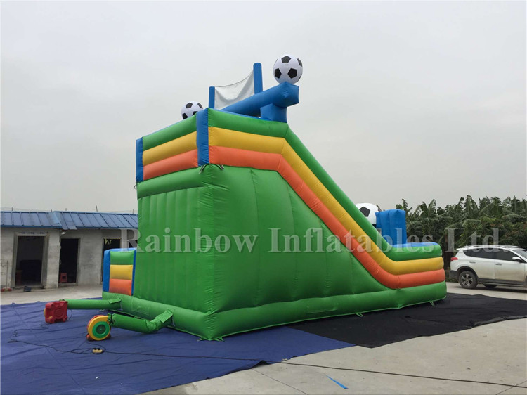 Outdoor Customized Inflatable Football Game Funcity Playground