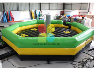 Popular Commercial Inflatable Meltdown Game Last Man Standing for Kids And Adults