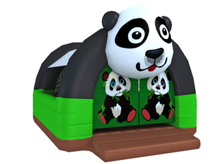 Small Outdoor Lovely Panda Inflatable Bouncer Playhouse for Toddlers