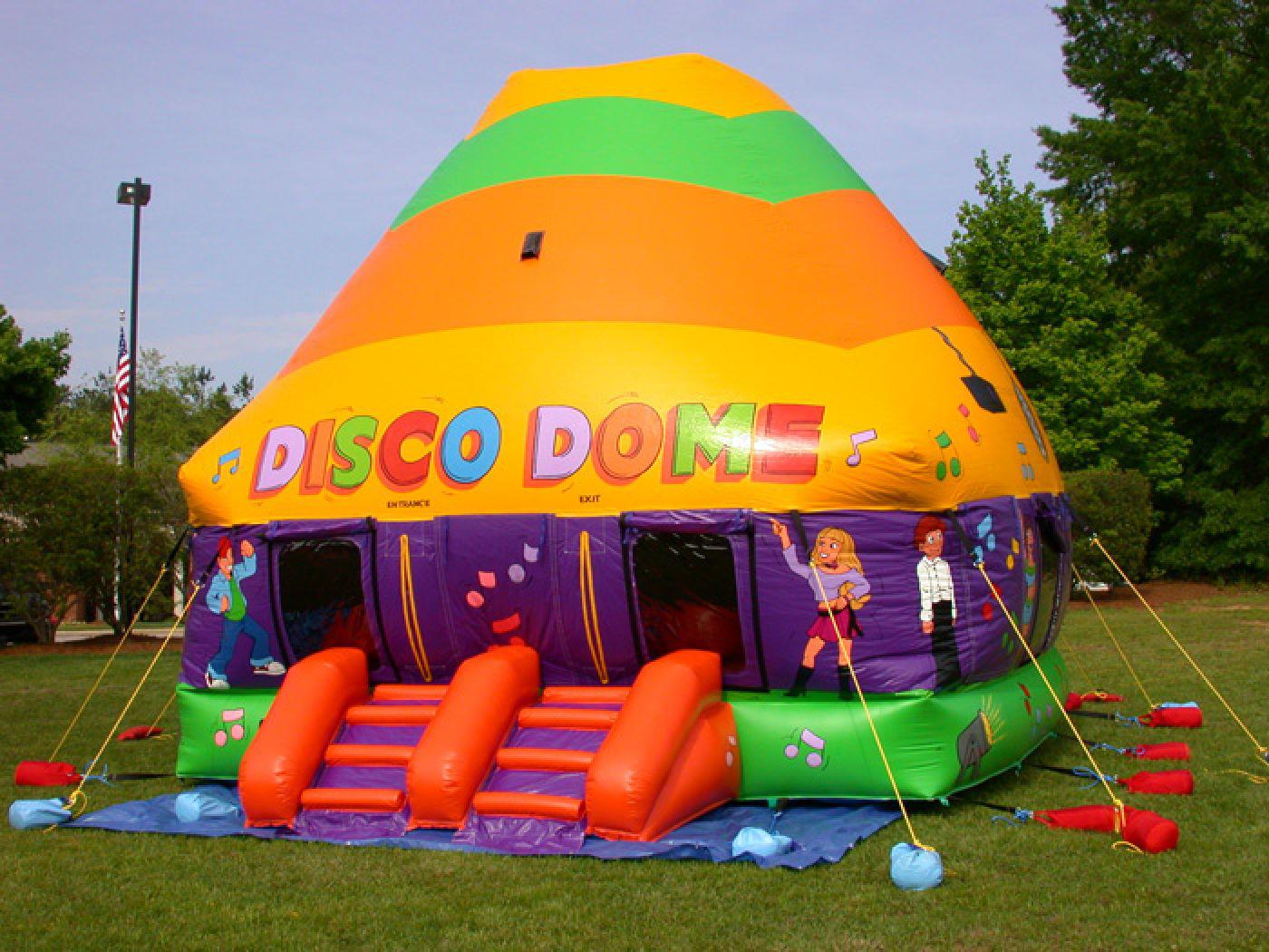 Rainbow Disco Dome Inflatables