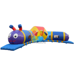 Inflatable Caterpillar crawl bouncy castle