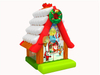 RB01010(5x4x6m) Inflatable Christmas Theme House bouncer for child new design