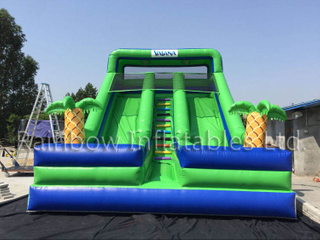 RB6092(8x5x7m)Inflatable Marine romance double slidehot sale