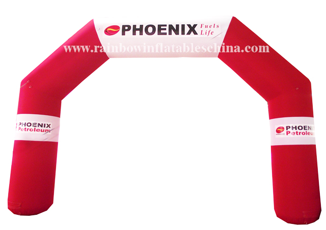 RB21007(9x6m) Inflatable new design printing arch model for promotion