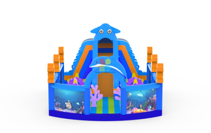 Giant Ocean World Inflatable Playground