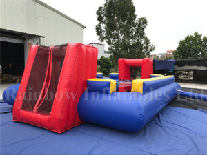 Hot Sale Outdoor Inflatable Human Table Football Game for Kids And Adults