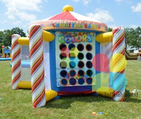 Popular Carnival Inflatable Games 5 in 1/carnival Inflatable Rental/carnival Themed Part Games