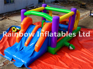 Small Outdoor Commercial Inflatable Combo for Toddlers