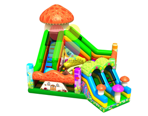 China Inflatable Mushroom Playground Manufacturer Commercial Grade Pvc Mushroom Slide
