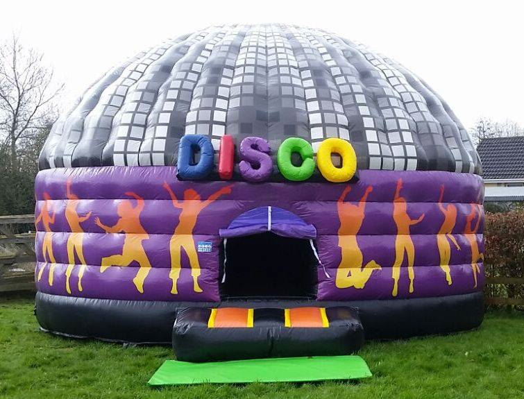 China Inflatable Disco Dome Bounce House Dance Party Dome manufacturer