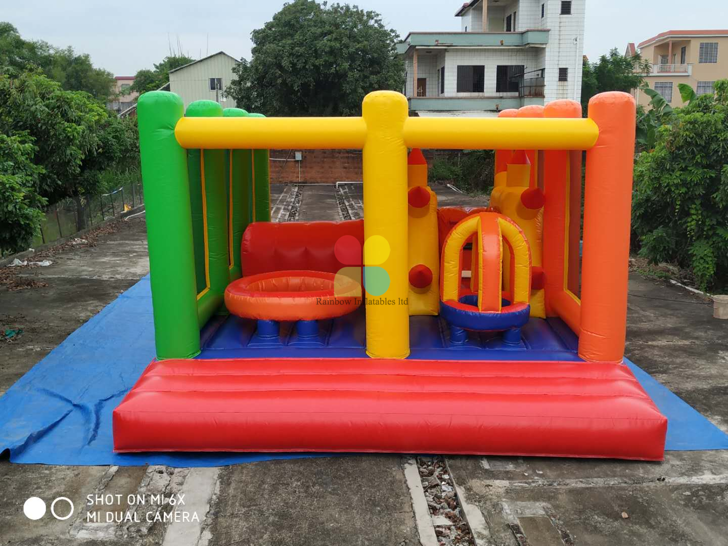 Inflatable Funcitonal Jumping Game for Sale