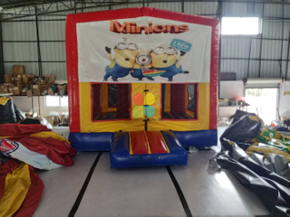 Customized Inflatable Basic Jumping Bouncy House of Minions