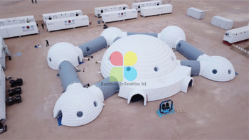 Inflatable Mars Camp Tent, Inflatable Combination Tent,Medical Aid Tent,medical Tunnel To Prevent Coronavirus