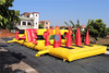 Hot Sell Outdoor Commercial Inflatable Game Inflatable Obstacle Course for Sale