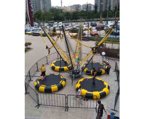 bungee trampoline sports game