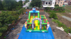 Outdoor Small Inflatable Animal Zoo Funcity Playground for Toddlers