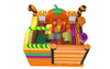 Popular Inflatable New Design Candy And Pumpkin Inflatables