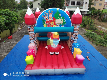 Inflatable Santa Man Bouncer