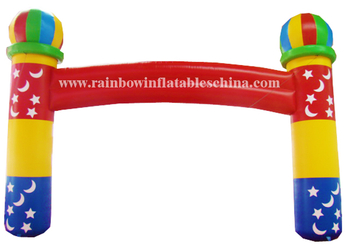 RB21015(10mh) Inflatable Customized size pvc arch/Inflatable race arches for advertising