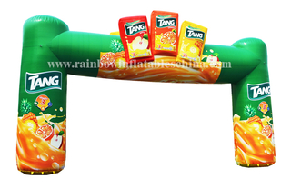 RB21030(13.3x8m)Inflatable Cheapest product air arch with logo