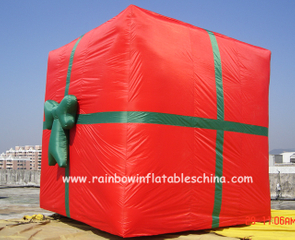 RB20014(3x3.5m)Inflatable christmas gift box