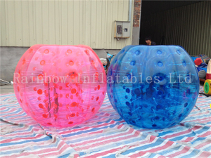 RB33007(dia 1.5m)Inflatable Rainow zorb ball for sale