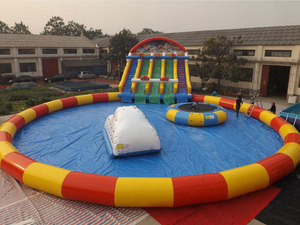 Hot Sale Large Outdoor Commercial Inflatable Water Park Above Ground Water Park for Sale