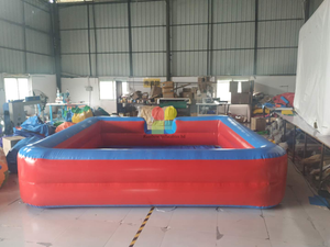 Customized Small Size Inflatable Water Pool And Inflatable Ball Poo