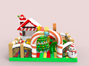 Inflatable Playround Bouncer for Christmas