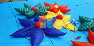 Giant Floats Inflatable Flower Model for Party