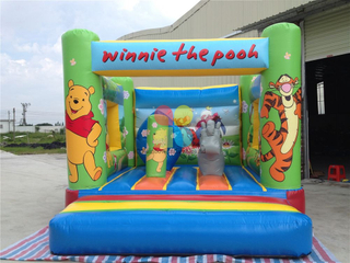 Inflatable Winnie Bear Bouncer