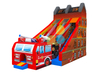 High Quality Inflatable Car Slide with bouncer house for Kids