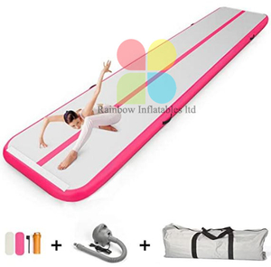 Hotsale Outdoor Inflatable Air track Tumbling Gymnastics Yoga Mat For Training