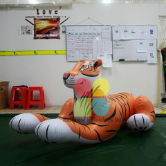 Outdoor decorations Inflatable tiger Animal Cartoon toys for advertising