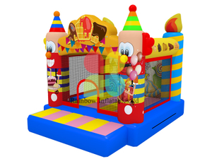 Happy Clown Mini Inflatable bouncer jumping castle